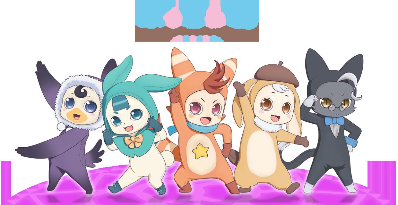 劇場アニメ「ポッピンQ」   ポッピン族のページ